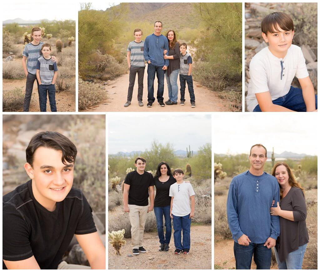 Scottsdale Family Portraits
